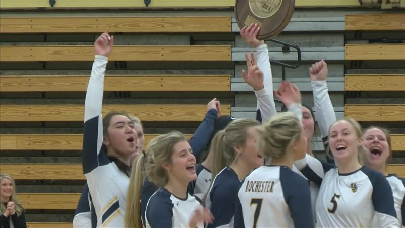 RCTC Volleyball Earns 1st Round Bye