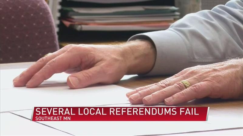 Several Local School Districts See Their Referendum Fail
