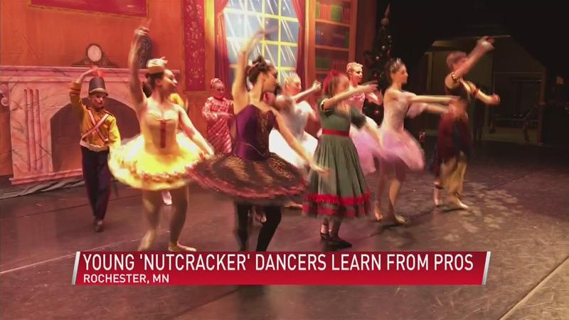 'Nutcracker' Combines Young Dancers With Professionals