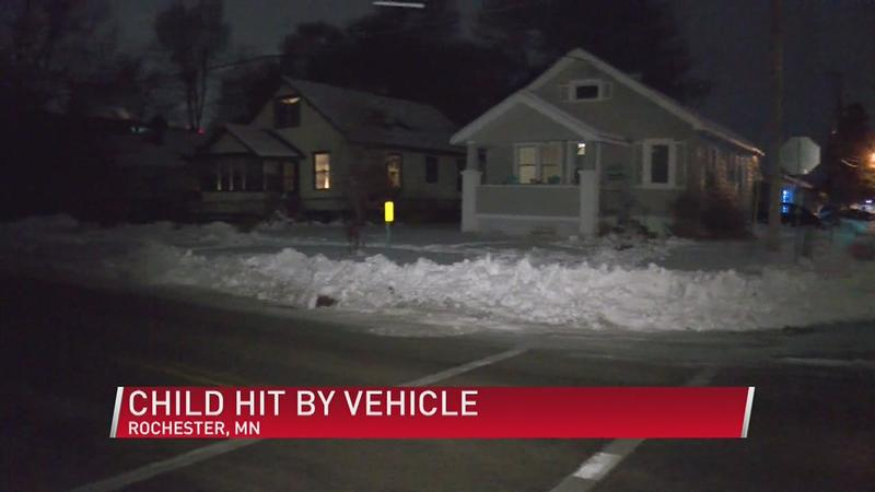 Child Hit By Vehicle in SE Rochester