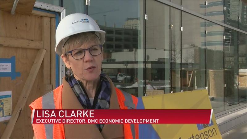 Community Leaders Get First Inside Look at 'One Discovery Square'