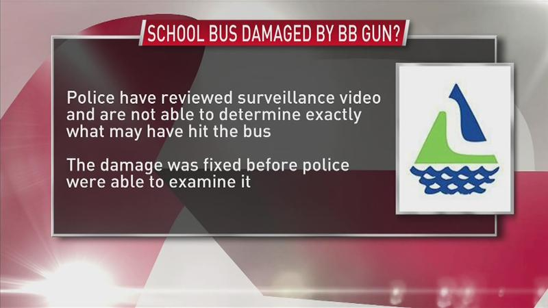 Police: BB Gunshots Possibly Damaged School Bus