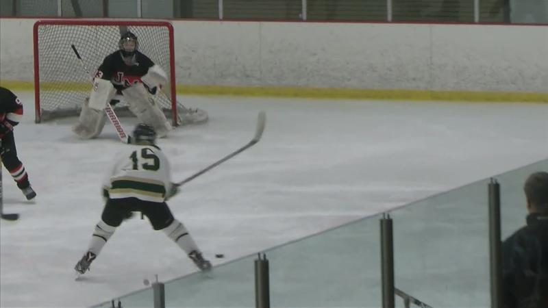 Priest, Pahl Lead Rochester Mayo Girls Hockey to Crosstown Win