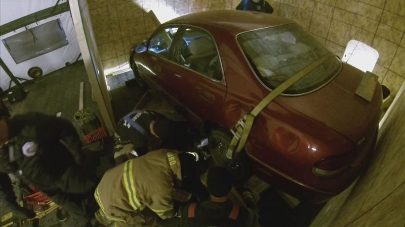 RFD Crews Participate in Vehicle vs. Building Training