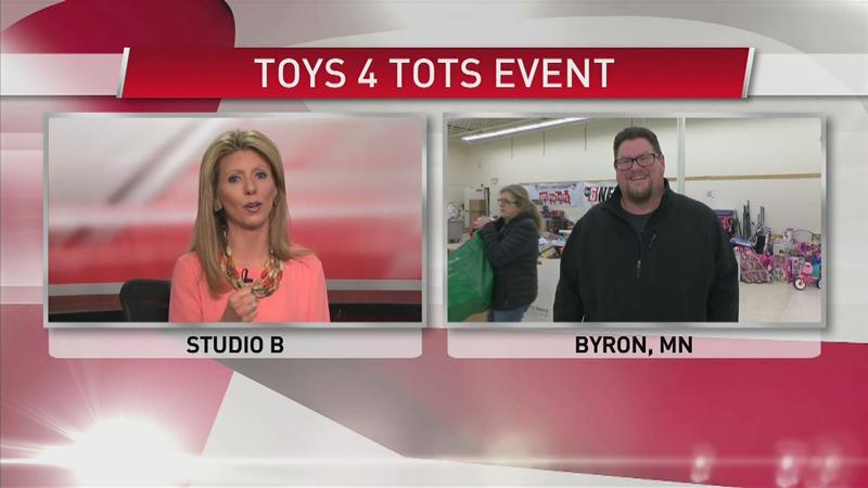 Toys for Tots Event in Memory of a Dodge County Sheriff's Captain