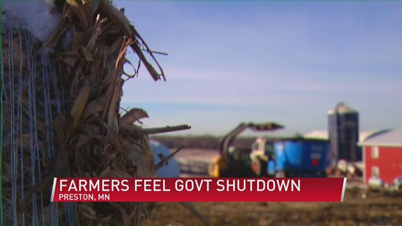 Farmers Feel Federal Shutdown