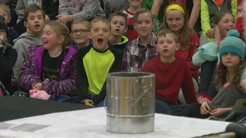 Weather Lab Visits Byron Intermediate