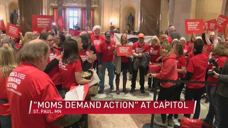 """Moms Demand Action"" Group Rallies For Gun Reform"