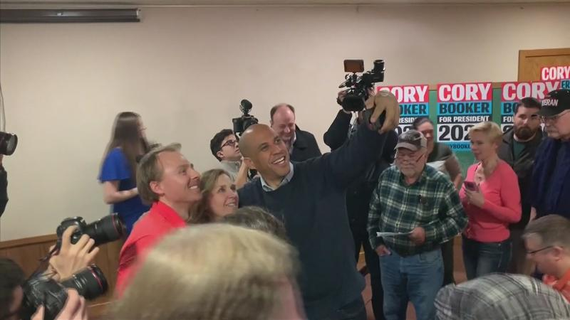 Booker Seeks Support From Iowans For Presidential Campaign