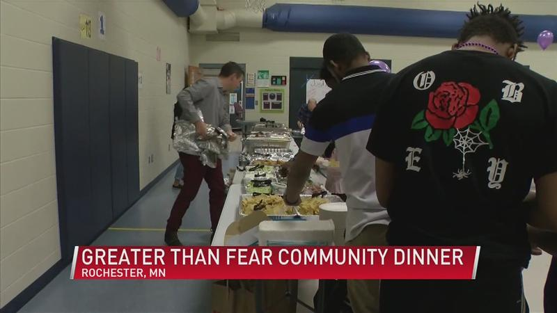Greater Than Fear Community Dinner