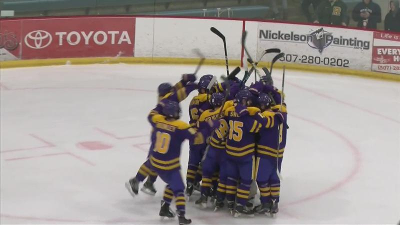 Lourdes to Play for Section Boys Hockey Title After Upset Win