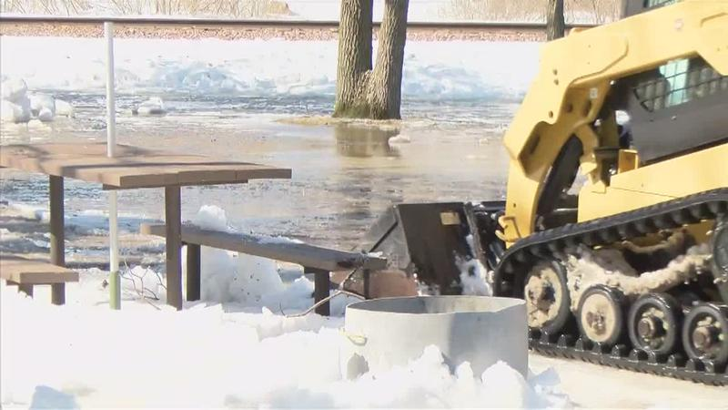 High Water Means Big Bucks for Some Businesses, Big Cleanup for Others