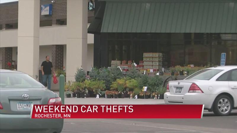 Rochester Car Thefts