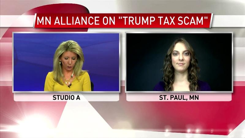 "Alliance for a Better Minnesota Launches New Ad on ""Trump Tax Scam"""