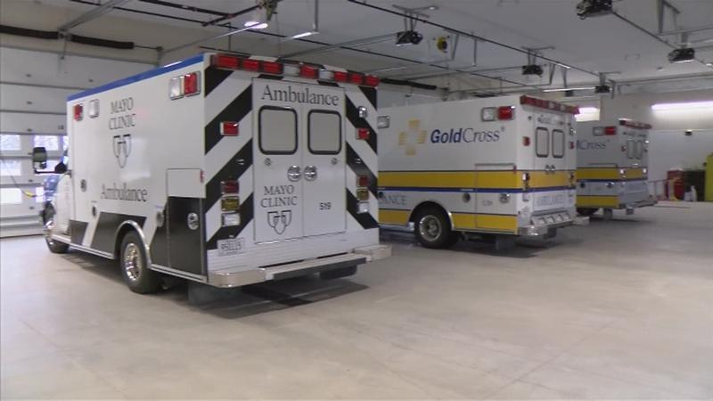Mayo Clinic Ambulance Service's New Building in Austin is Open