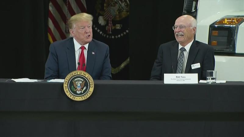 Trump Visits Business Owned by Rochester Man