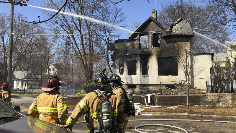 Update St Paul Fire Department Responds To Home