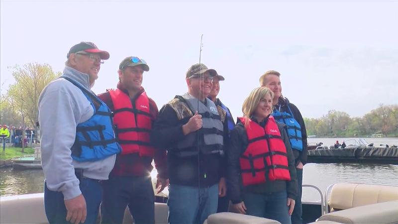 Flanagan Beats Walz in a Friendly Fishing Competition at the 72nd MN Governor's Fishing Opener