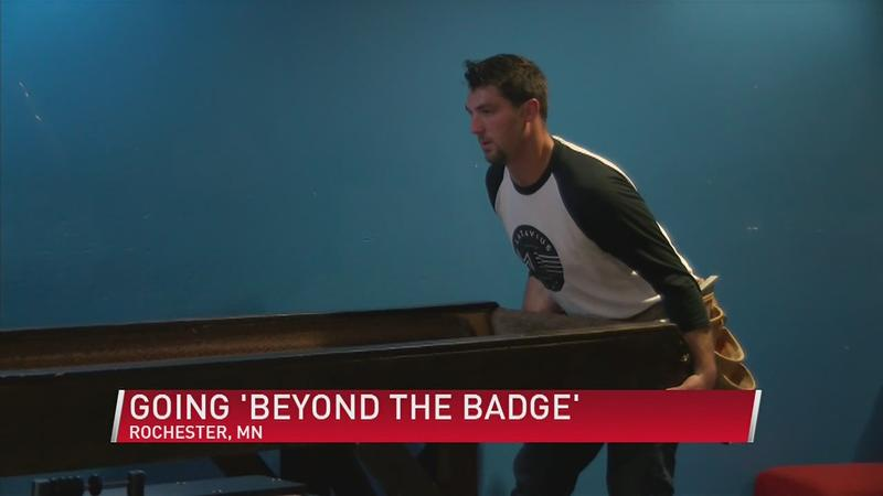 Going 'Beyond the Badge' and into the Community