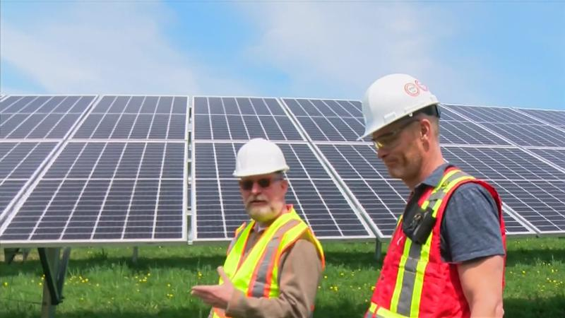 Lanesboro Solar Field Soon Up and Running