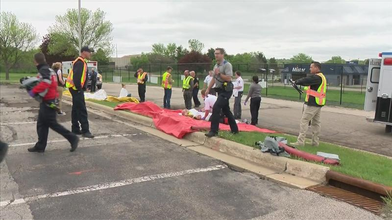 Rochester Agencies Participate in Active Shooter Drill