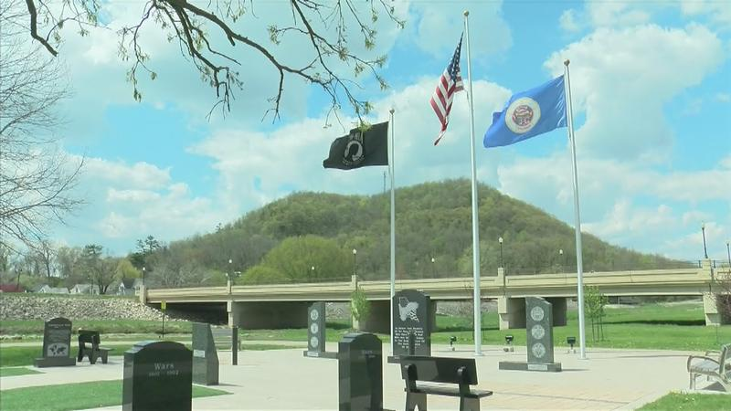 Rushford Community Comes Together to Build Veterans Memorial
