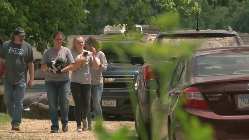 20 Dogs Seized From Home Outside Lime Springs, Iowa