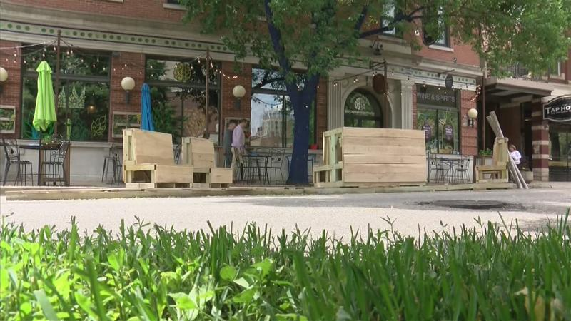 "Construction of Downtown ""Parklet"" is Underway"