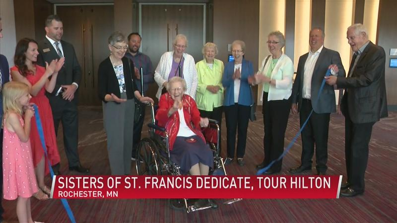 Hilton Honors Sisters of St. Francis