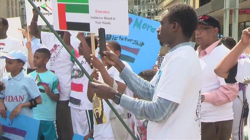 """Local Residents """"Stand With Sudan"""""""
