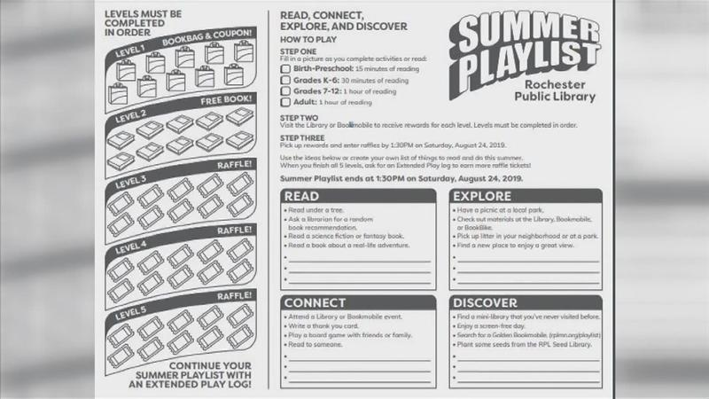 Rochester Public Library's 'Summer Playlist' Encourages All Learning Styles