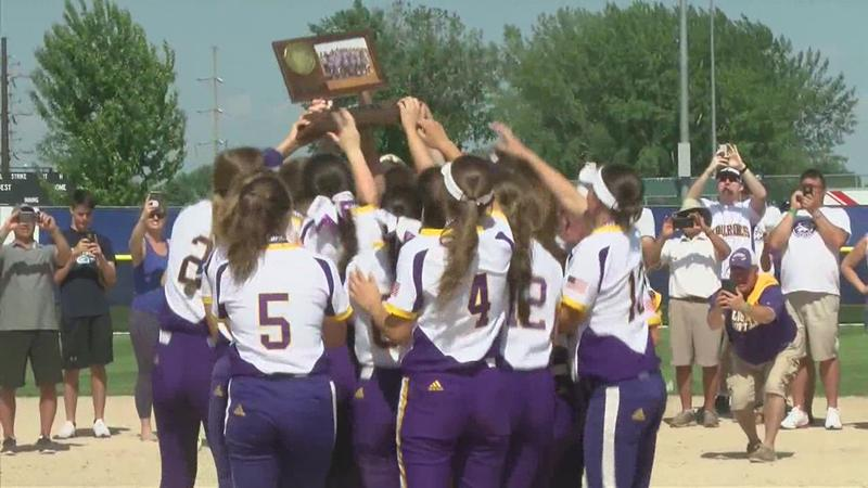 Softball: Lourdes Eagles Class AA State Champions