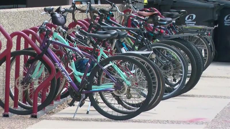 Bikes Gain Ground Downtown