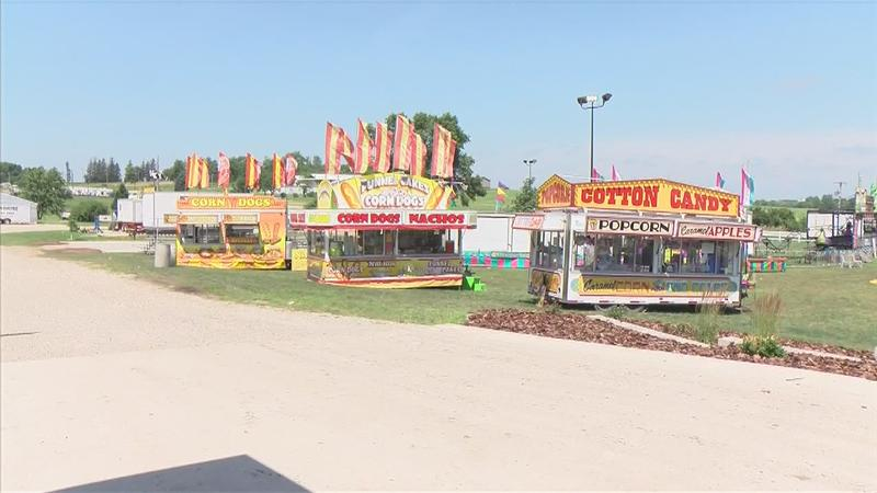 Floyd County Fair Opens as Planned, Two Months After Tornado