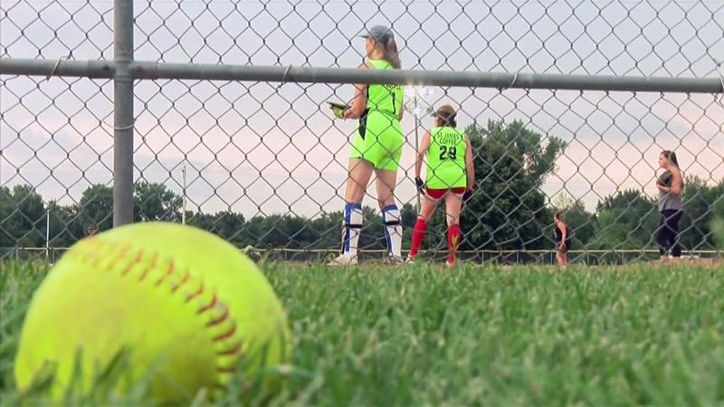 Oldest Softball Player in the League Still a Firecracker on the Mound