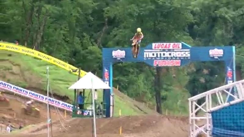Pro Motocross Riders Come Home
