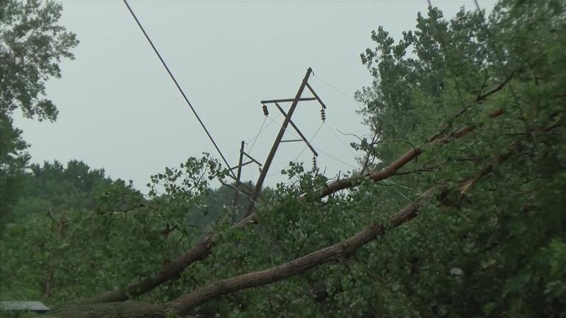 Storms Cause Structural Damage to Homes, Trees, and Power Outages