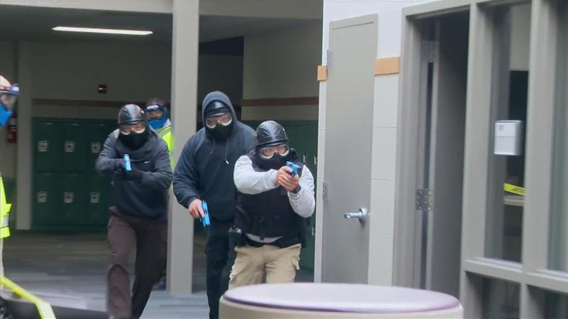FBI conducts active shooter training in Rushford