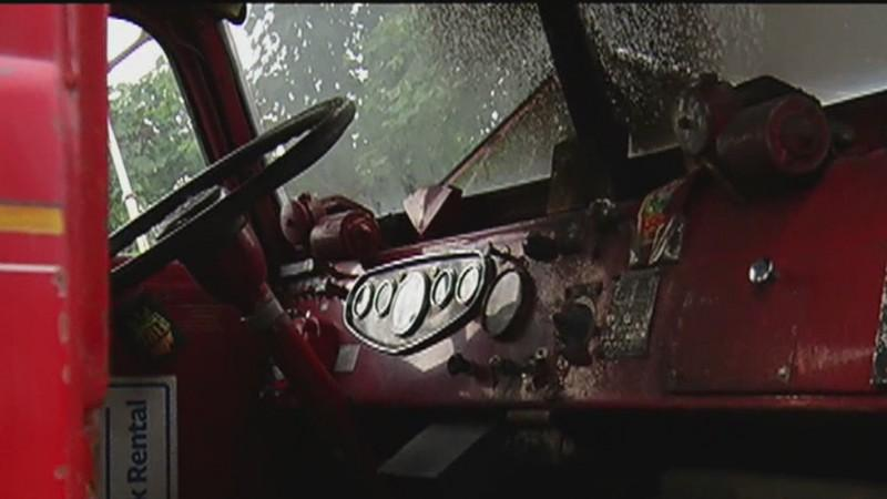 Historic South St. Paul Fire Truck Damaged in Possible Arson