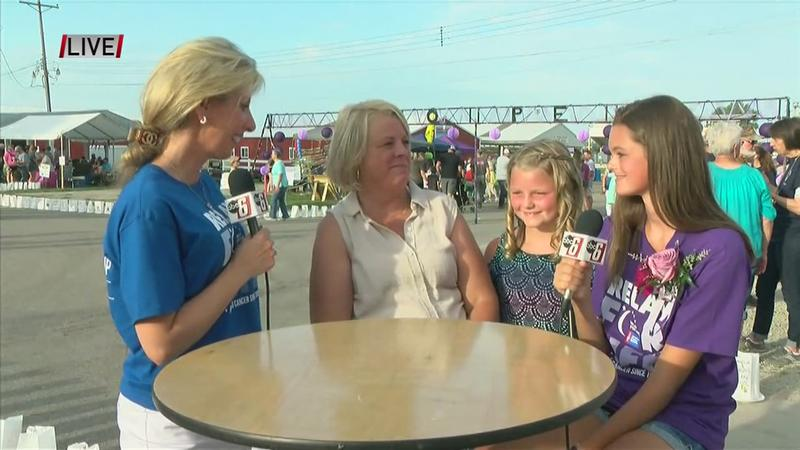 VIDEO: Live at Dodge Co. Relay for Life with Honorary Chair