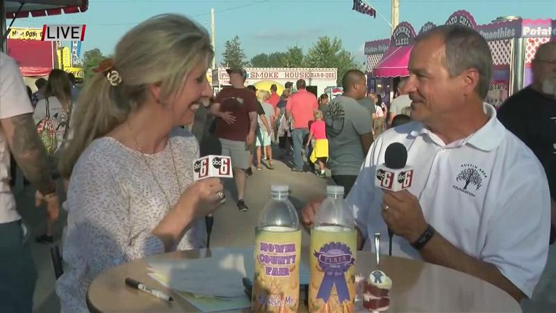 VIDEO: Live at Mower Co. Fair with County Commissioner