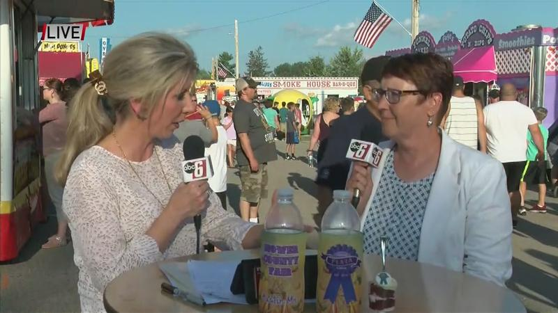 VIDEO: Live at Mower Co. Fair with Rep. Jeanne Poppe