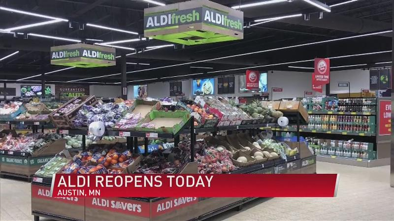 Grab your Quarter: Aldi Completes Remodel in Austin