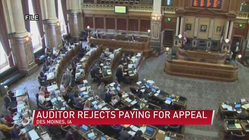 State auditor: Taxpayers shouldn't pay Branstad case appeal