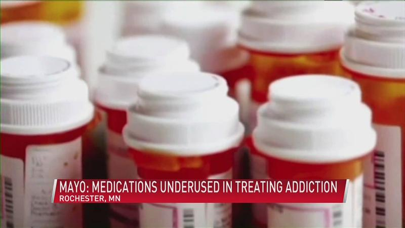 Mayo study finds medications underused in treating opioid addiction