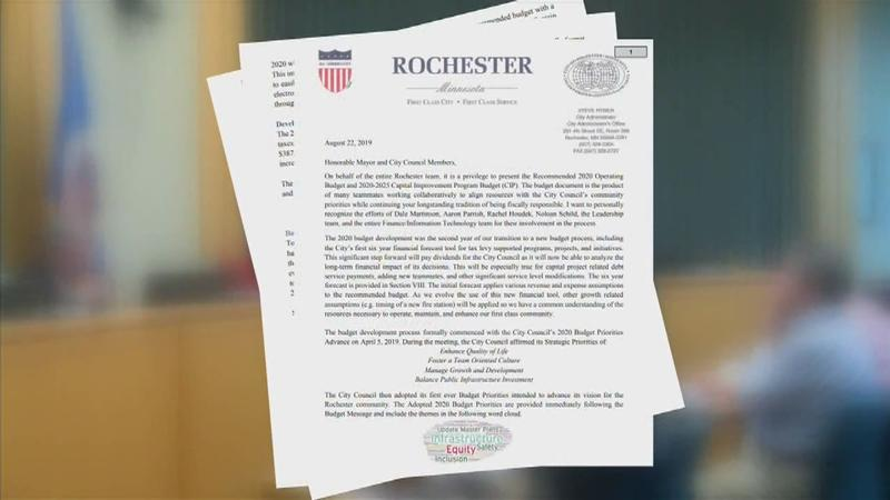 Second look at proposed 2020 budget for Rochester