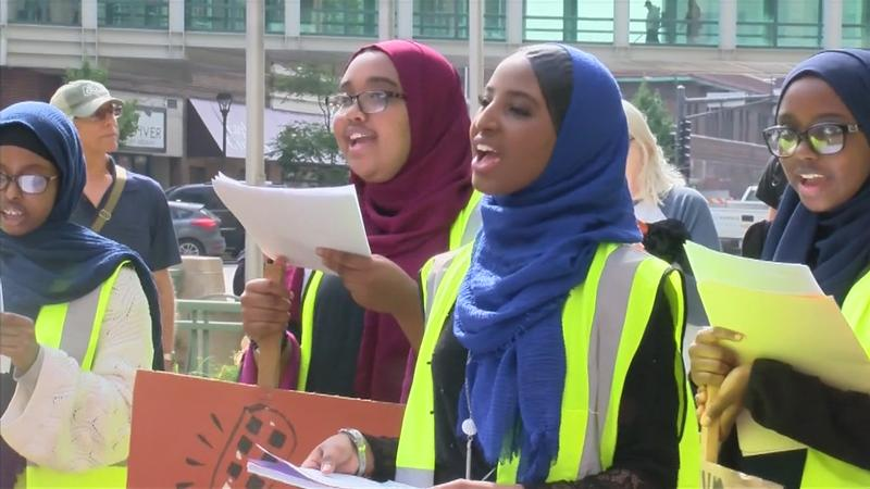Students on strike: Rochester youth turn out for global climate