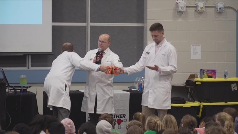 Weather Lab Visits Bamber Valley Elementary School (Rochester)