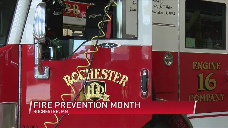 Fire Prevention Month Open Houses