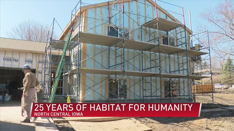 Habitat for Humanity: 25 years of building homes in North Central Iowa